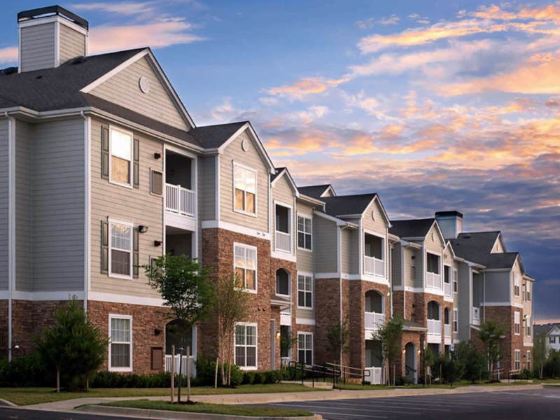 This image shows the scenic view of the tall establishments of TGM Odenton in Odenton, MD