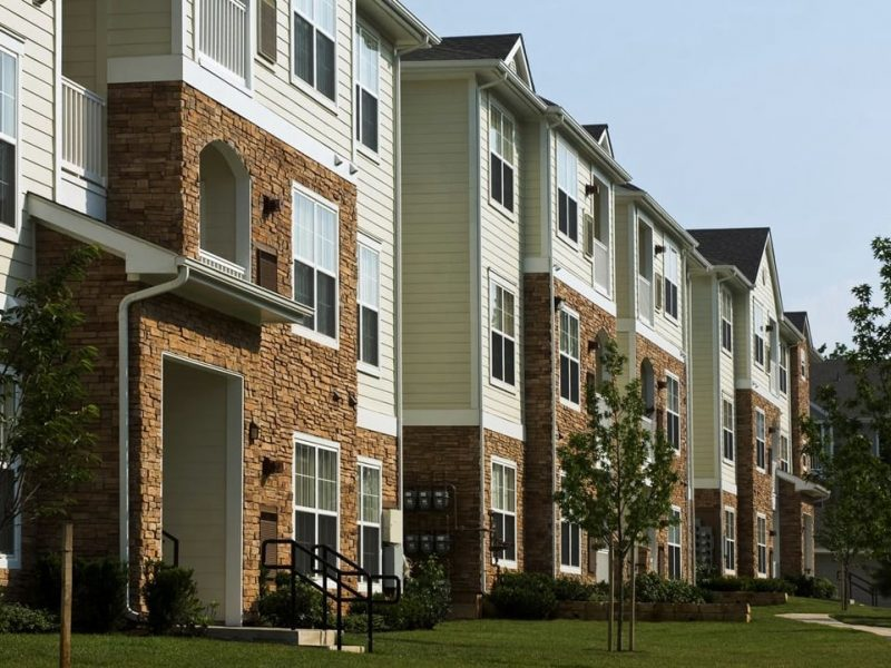 This image shows the landscape view of the tall establishments of TGM Odenton in Odenton, MD